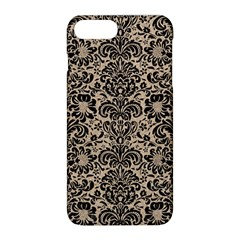 Damask2 Black Marble & Sand Apple Iphone 8 Plus Hardshell Case