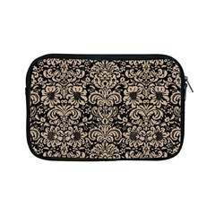 Damask2 Black Marble & Sand (r) Apple Ipad Mini Zipper Cases by trendistuff