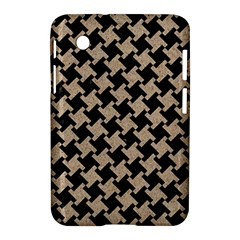 Houndstooth2 Black Marble & Sand Samsung Galaxy Tab 2 (7 ) P3100 Hardshell Case  by trendistuff