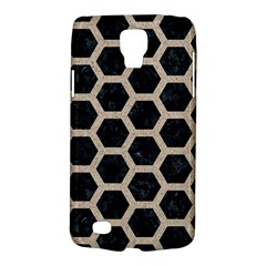 Hexagon2 Black Marble & Sand (r) Galaxy S4 Active by trendistuff