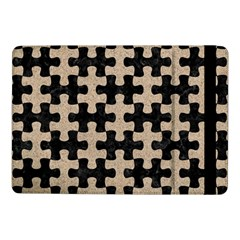 Puzzle1 Black Marble & Sand Samsung Galaxy Tab Pro 10 1  Flip Case by trendistuff