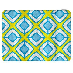 Blue Rhombus Pattern                          Htc One M7 Hardshell Case by LalyLauraFLM
