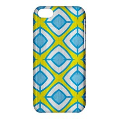 Blue Rhombus Pattern                          Apple Iphone 5s Hardshell Case by LalyLauraFLM