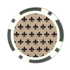 Royal1 Black Marble & Sand (r) Poker Chip Card Guard (10 Pack) by trendistuff