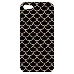 Scales1 Black Marble & Sand (r) Apple Iphone 5 Hardshell Case by trendistuff