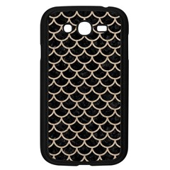 Scales1 Black Marble & Sand (r) Samsung Galaxy Grand Duos I9082 Case (black) by trendistuff