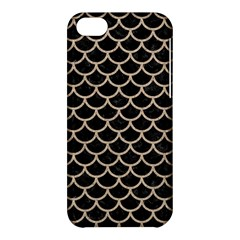 Scales1 Black Marble & Sand (r) Apple Iphone 5c Hardshell Case by trendistuff