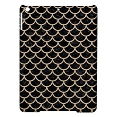 Scales1 Black Marble & Sand (r) Ipad Air Hardshell Cases by trendistuff