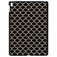Scales1 Black Marble & Sand (r) Apple Ipad Pro 9 7   Black Seamless Case by trendistuff