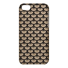Scales3 Black Marble & Sand Apple Iphone 5c Hardshell Case by trendistuff