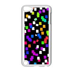 Colorful Rectangles On A Black Background                           Apple Ipod Touch 5 Case (black) by LalyLauraFLM