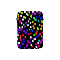 Colorful Rectangles On A Black Background                           Apple Ipad 2/3/4 Zipper Case by LalyLauraFLM