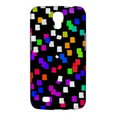 Colorful Rectangles On A Black Background                           Sony Xperia Sp (m35h) Hardshell Case by LalyLauraFLM