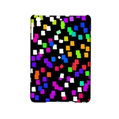 Colorful Rectangles On A Black Background                           Apple Ipad Air Hardshell Case by LalyLauraFLM