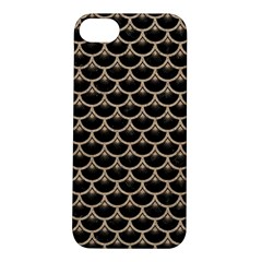 Scales3 Black Marble & Sand (r) Apple Iphone 5s/ Se Hardshell Case by trendistuff