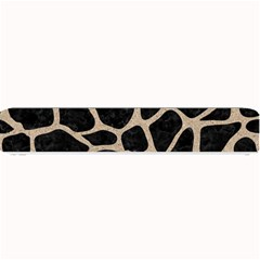 Skin1 Black Marble & Sand Small Bar Mats by trendistuff