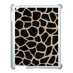 Skin1 Black Marble & Sand Apple Ipad 3/4 Case (white) by trendistuff