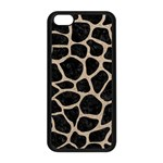 SKIN1 BLACK MARBLE & SAND Apple iPhone 5C Seamless Case (Black) Front