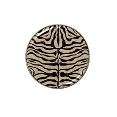 Skin2 Black Marble & Sand Hat Clip Ball Marker (4 Pack) by trendistuff
