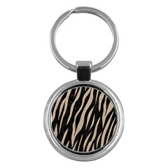Skin3 Black Marble & Sand (r) Key Chains (round)  by trendistuff