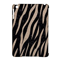 Skin3 Black Marble & Sand (r) Apple Ipad Mini Hardshell Case (compatible With Smart Cover) by trendistuff