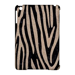 Skin4 Black Marble & Sand Apple Ipad Mini Hardshell Case (compatible With Smart Cover) by trendistuff