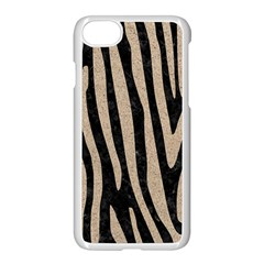 Skin4 Black Marble & Sand Apple Iphone 8 Seamless Case (white)
