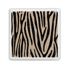 Skin4 Black Marble & Sand (r) Memory Card Reader (square)  by trendistuff