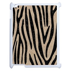 Skin4 Black Marble & Sand (r) Apple Ipad 2 Case (white) by trendistuff
