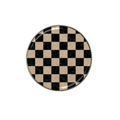 Square1 Black Marble & Sand Hat Clip Ball Marker (10 Pack) by trendistuff