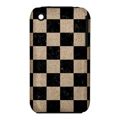 Square1 Black Marble & Sand Iphone 3s/3gs by trendistuff