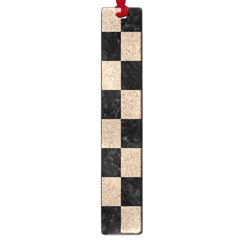 Square1 Black Marble & Sand Large Book Marks by trendistuff