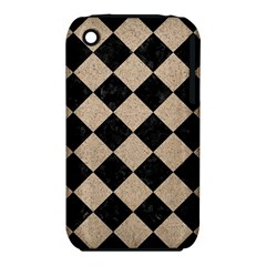 Square2 Black Marble & Sand Iphone 3s/3gs by trendistuff