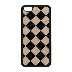 Square2 Black Marble & Sand Apple Iphone 5c Seamless Case (black) by trendistuff