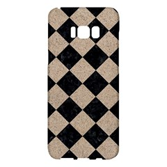 Square2 Black Marble & Sand Samsung Galaxy S8 Plus Hardshell Case  by trendistuff