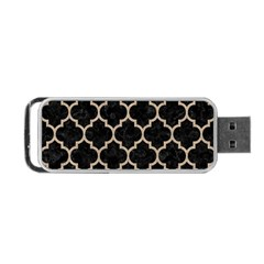 Tile1 Black Marble & Sand (r) Portable Usb Flash (two Sides) by trendistuff
