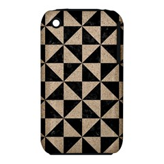 Triangle1 Black Marble & Sand Iphone 3s/3gs by trendistuff