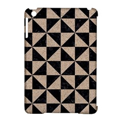 Triangle1 Black Marble & Sand Apple Ipad Mini Hardshell Case (compatible With Smart Cover) by trendistuff