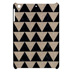 Triangle2 Black Marble & Sand Apple Ipad Mini Hardshell Case by trendistuff