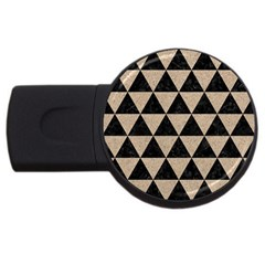 Triangle3 Black Marble & Sand Usb Flash Drive Round (2 Gb)