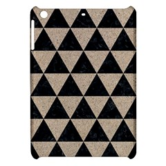 Triangle3 Black Marble & Sand Apple Ipad Mini Hardshell Case by trendistuff