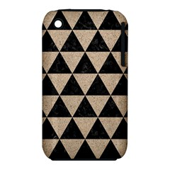 Triangle3 Black Marble & Sand Iphone 3s/3gs by trendistuff