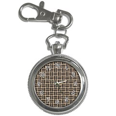 Woven1 Black Marble & Sand Key Chain Watches by trendistuff