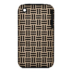 Woven1 Black Marble & Sand Iphone 3s/3gs by trendistuff