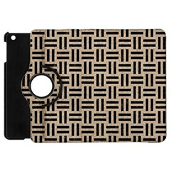 Woven1 Black Marble & Sand Apple Ipad Mini Flip 360 Case by trendistuff