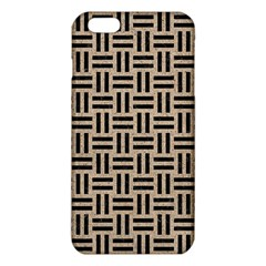 Woven1 Black Marble & Sand Iphone 6 Plus/6s Plus Tpu Case by trendistuff