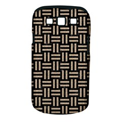 Woven1 Black Marble & Sand (r) Samsung Galaxy S Iii Classic Hardshell Case (pc+silicone) by trendistuff