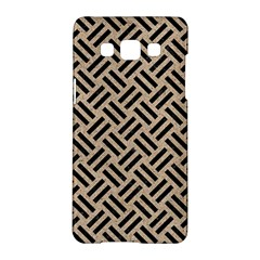 Woven2 Black Marble & Sand Samsung Galaxy A5 Hardshell Case  by trendistuff