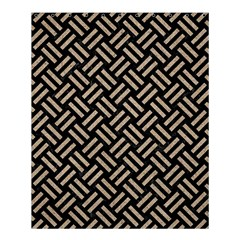 Woven2 Black Marble & Sand (r) Shower Curtain 60  X 72  (medium)  by trendistuff