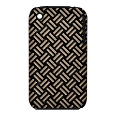 Woven2 Black Marble & Sand (r) Iphone 3s/3gs by trendistuff
